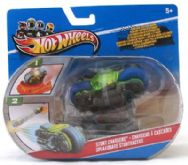 Hot Wheels Stunt Chargers Motorbike Blue & Green